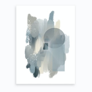 Color Painting 2 Art Print