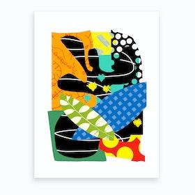 Malibu Polka 3 Art Print