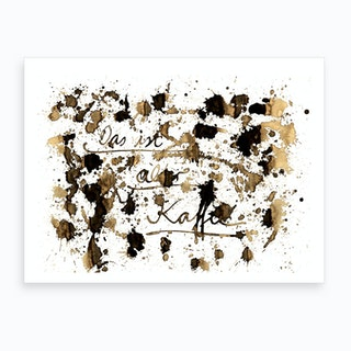 Alter Kaffee Art Print