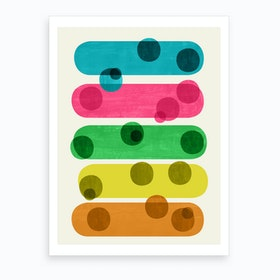 In And Out Of Focus Art Print