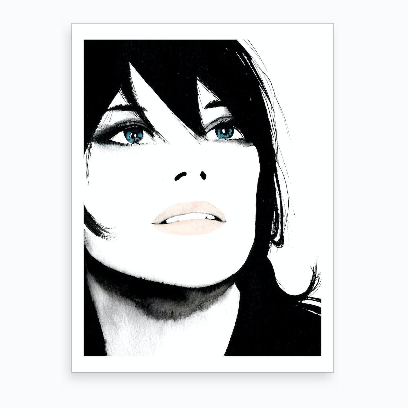 Marion love art print by katie jackson