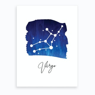 Virgo Zodiac Art Print