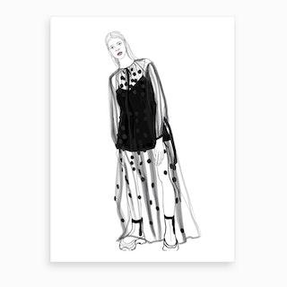 Stella Mccartney Look 41 Art Print