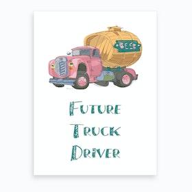 Truck 2 Art Print