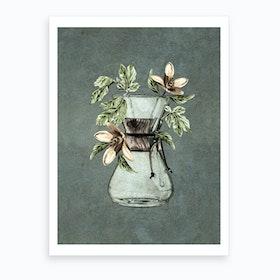 Botanical Chemex Art Print