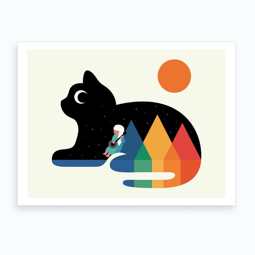 Moonlight Serenade  Art Print