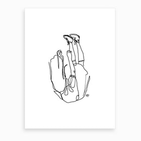 Falling For You Art Print