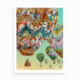 Multiple Dreams Art Print