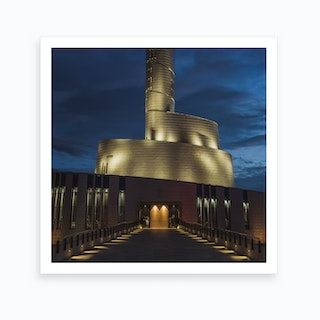 The Northern Lights Cathedral   Art Lasovsky Art Print