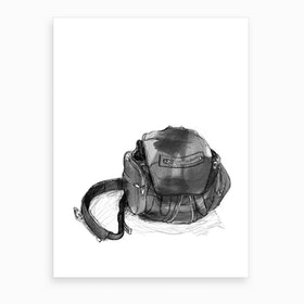 Alexander Wang Backpack Art Print