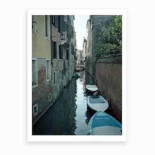 Venezia E Una Citta Verda 04 Art Print