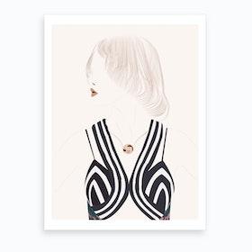 Lindsey Wixson Art Print