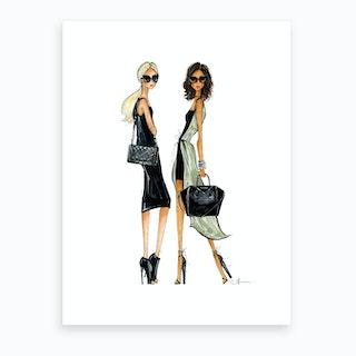 It Bags Art Print