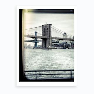 Nyc Ferry Views Ii  Art Print