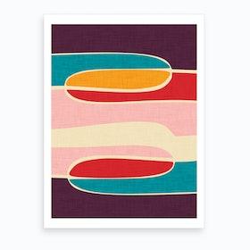 Wondering Waves Art Print