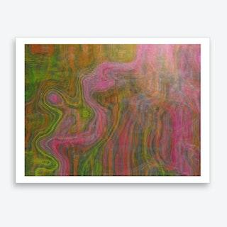 Little Pink Device Ii Art Print