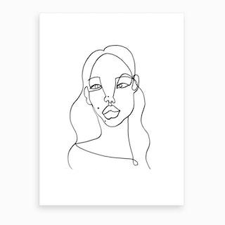 Tsunaina Art Print