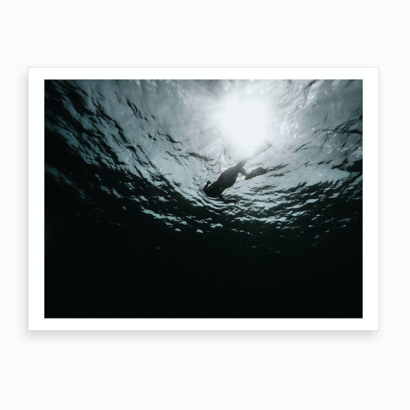 Diver Art Print