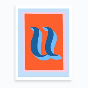 U Art Print