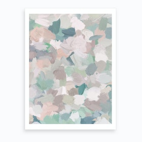 Fuzzy Flowers Art Print