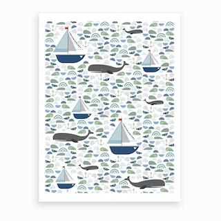 Sealife Art Print