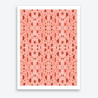 Kaleidoscopic Cretto Art Print