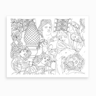 Vatican Museum Collection Art Print