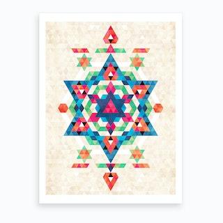 Bohemian Kilim Diamond Art Print