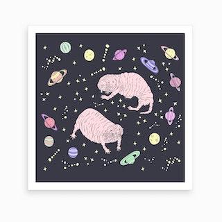 Space Rats Art Print