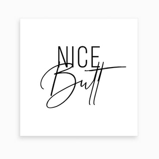 Nice Butt Art Print