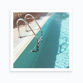 Swimming Pool Iv Art Print