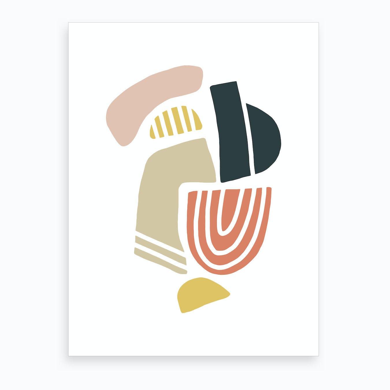 Pebble I Art Print