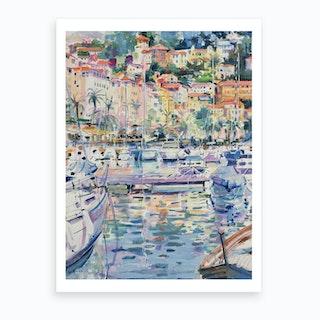 Riviera Yachts Art Print