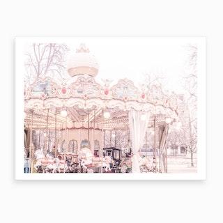 Carousel Paris III Art Print