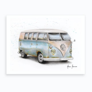 A Journey In Time Art Print