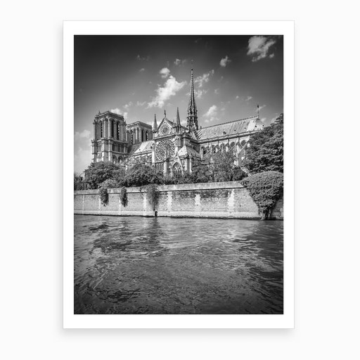 Paris Cathedral Notre Dame  Art Print