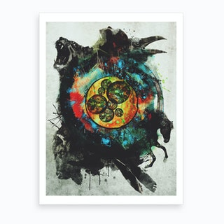 Cell Of Life Art Print