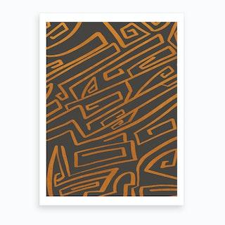 Modern Improvisation 6 Art Print