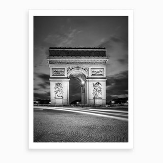 Paris Arc De Triomphe Art Print