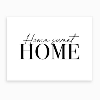 Home Sweet Home Cute Art Print