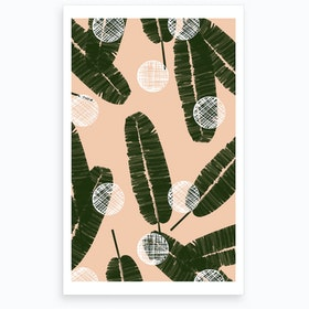 Wrong Palms & Dots Art Print