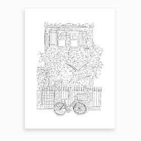 New York Doorstep Art Print