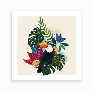 The Toucan I Art Print
