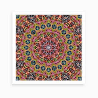 Cherga Mandala I Art Print