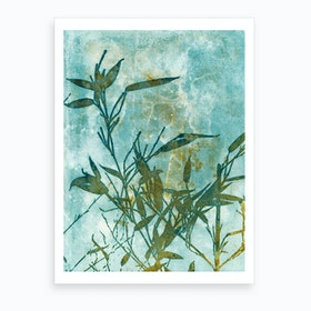 Bamboo Impressions Art Print