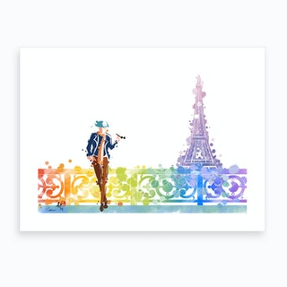 Life In Paris 2 Art Print