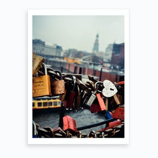 Love Locked  Art Print