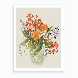 Sumida Flower 1 Art Print