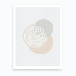 Minimalist Geometric I Art Print