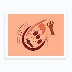 Fruit Pickin Art Print